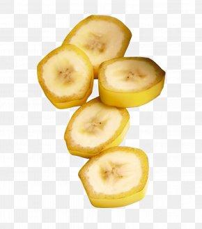 Banana Slices - Banana Food Fruit Apple PNG