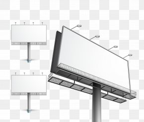 Large Outdoor Billboard - Billboard Out-of-home Advertising PNG