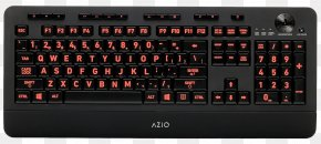 Computer Keyboard - Computer Keyboard Backlight Color Computer Mouse PNG