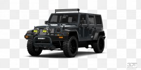 Jeep Wrangler Unlimited - Jeep Wrangler Car Tire Sport Utility Vehicle PNG
