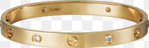 Cartier Bracelet - Earring Love Bracelet Cartier Jewellery PNG