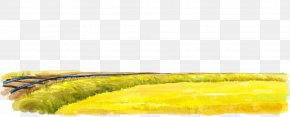 Hand-painted Golden Paddy PNG