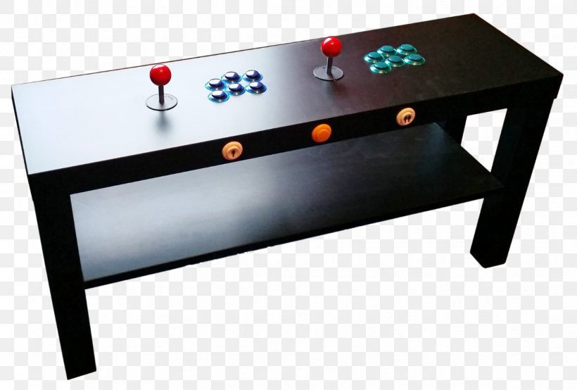 Table Arcade Game Raspberry Pi Ikea Retrogaming Png
