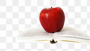 Apple And Books - Still Life Photography Apple PNG