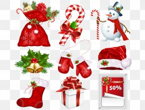 Christmas Tree Festival Decorative Pattern - Candy Cane Santa Claus Christmas Symbol Clip Art PNG