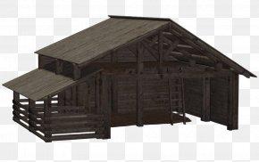 Barn - Barn Log Cabin Silo Clip Art PNG