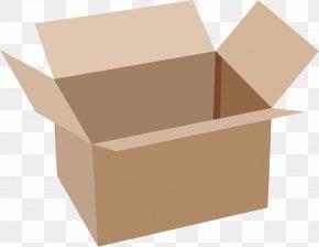 Box - Cardboard Box Clip Art PNG