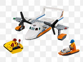 Airplane Lego Cities - LEGO 60164 City Sea Rescue Plane Amazon.com Airplane Toy PNG