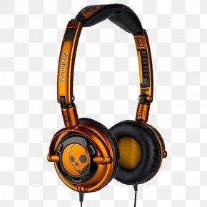 Headphones - Skullcandy Lowrider Headphones Audio Microphone PNG
