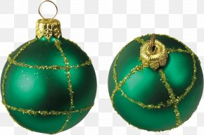 Pay New Year's Call - Christmas Ornament Ball Clip Art PNG