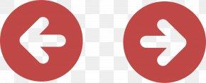 Red Arrow Button - Circle Arrow Logo Icon PNG