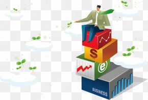 Business People Illustration - Sitting Illustration PNG