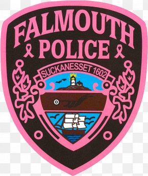 Police - Falmouth Police Department Badge Police Officer Law Enforcement PNG