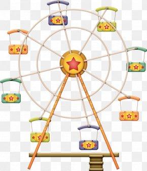 Ferris Wheel Transparent - Ferris Wheel Clip Art Image Illustration PNG
