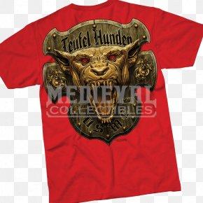 T-shirt - T-shirt Devil Dog United States Marine Corps Dress Clothing PNG