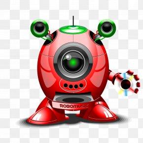 Vector CD - Robot Euclidean Vector Stock Photography Illustration PNG