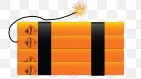 Hand Painted Yellow Explosives - Royalty-free Drawing Clip Art PNG