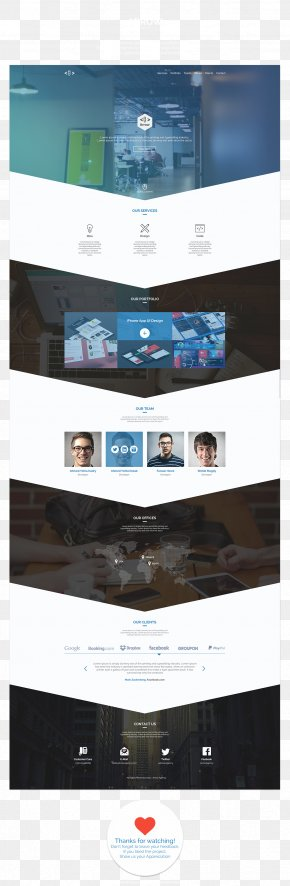 Design - Template Responsive Web Design Information PNG