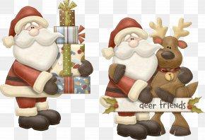 Santa Claus Creative - Ded Moroz Rudolph Snegurochka Santa Claus Reindeer PNG