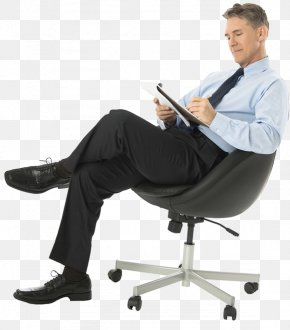 Sitting Man - A Plunge Into Space Desk Screenshot Icon PNG