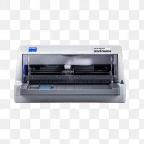 Horizontal Push Bills Dot Matrix Printer - Epson Printer Dot Matrix Printing Device Driver Invoice PNG