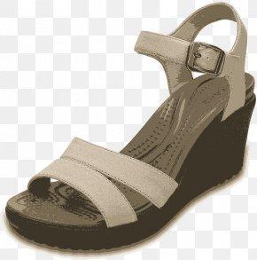2016 New Female Shi Leili Slope With Sandals 202 511 II - Sandal Crocs Platform Shoe Wedge PNG