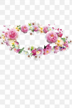 Garland Pictures - Flower Garland Crown Wreath PNG