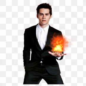 Human Torch - Dylan O'Brien Stiles Stilinski Teen Wolf Actor Film Producer PNG