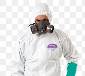 Personal Protective Equipment - Personal Protective Equipment Disposable Chemical Hazard Raincoat Headgear PNG