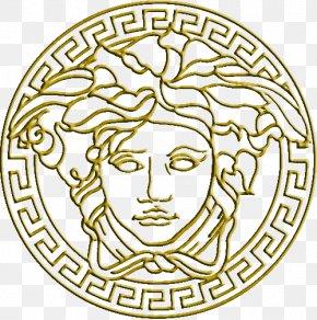 Gucci Logo - Gianni Versace Logo Italian Fashion Perfume PNG