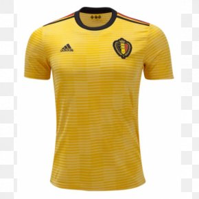 T-shirt - 2018 FIFA World Cup Belgium National Football Team T-shirt Jersey Kit PNG