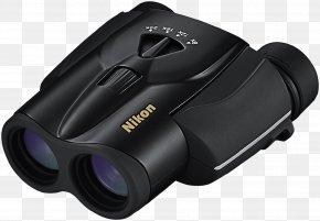 Binocular - Binoculars Nikon Zoom Lens Porro Prism Magnification PNG