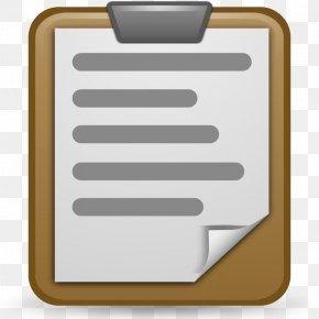 Clipboard Cliparts Math - Clipboard Free Content Clip Art PNG