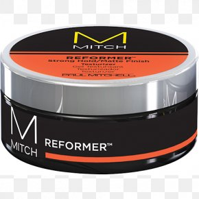 Hair - Paul Mitchell Mitch Reformer Pomade Hairstyle Hair Styling Products Barber PNG