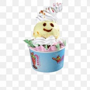 Ice Cream - Ice Cream Cake Sundae Gelato PNG