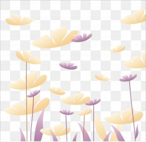 Free Floral Cutout - Yellow Google Images Petal Flower PNG