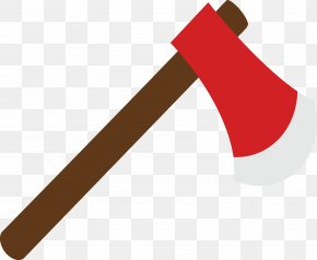 Red Ax - Axe Firewood Weapon PNG