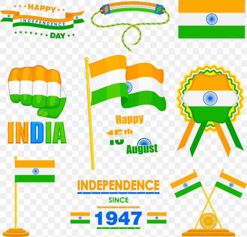 Indian Independence Movement Indian Independence Day Flag Of India, PNG, 898x861px, India, Area, Clip Art, Diagram, Flag Download Free