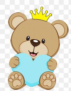 Brown Bear Sticker - Teddy Bear PNG
