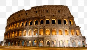 Colosseum - Colosseum Great Fire Of Rome Ancient Rome Landmark PNG