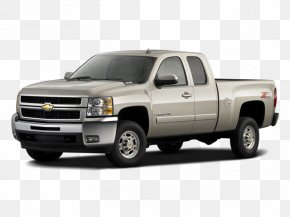 Car - 2007 Chevrolet Silverado 2500HD General Motors Car Pickup Truck PNG