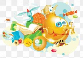 HD Cartoon Child Element - Cartoon Child PNG