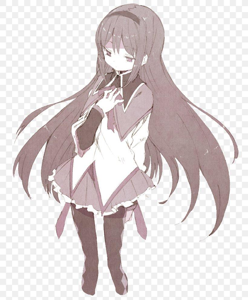 Homura Akemi Mami Tomoe Sayaka Miki Madoka Kaname Kyubey Png 800x990px Watercolor Cartoon Flower Frame Heart