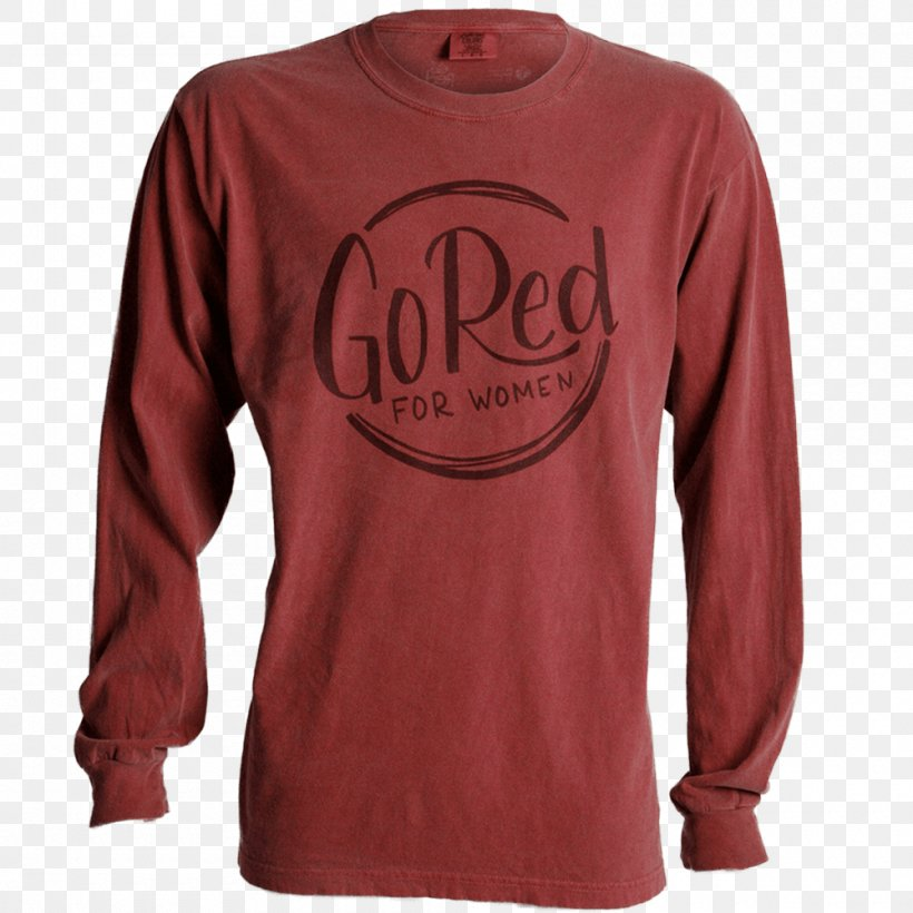Long-sleeved T-shirt Long-sleeved T-shirt Clothing, PNG, 1000x1000px, Sleeve, Active Shirt, American Heart Association, Bluza, Clothing Download Free