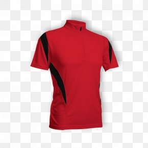 Printed T Shirt Red - T-shirt Polo Shirt Piqué Atlanta Falcons PNG