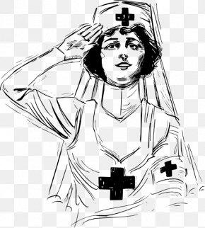 War Clipart - First World War All Things Nursing Nurse Clip Art PNG