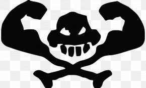Free Download Of Skull And Crossbones Icon Clipart - Skull And Bones Skull And Crossbones Clip Art PNG