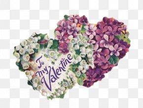 Valentine's Day - Valentine's Day Vinegar Valentines Love Heart Floral Design PNG