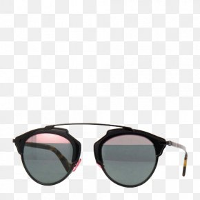 Black Round Frame Sunglasses - Goggles Sunglasses Christian Dior SE Eyewear PNG