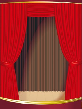 Theater Red Curtain - Theater Drapes And Stage Curtains Theater Drapes And Stage Curtains Light PNG